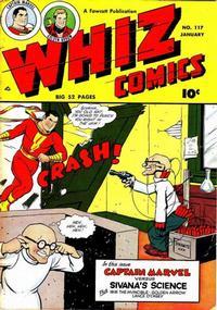 Cover Thumbnail for Whiz Comics (Fawcett, 1940 series) #117