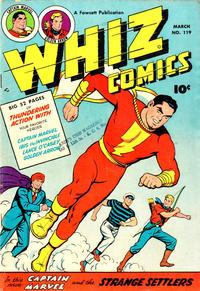 Cover Thumbnail for Whiz Comics (Fawcett, 1940 series) #119