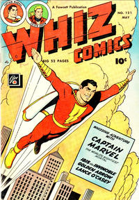 Cover Thumbnail for Whiz Comics (Fawcett, 1940 series) #121