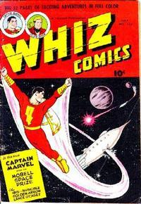 Cover Thumbnail for Whiz Comics (Fawcett, 1940 series) #123