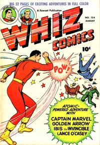Cover Thumbnail for Whiz Comics (Fawcett, 1940 series) #124