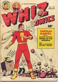 Cover Thumbnail for Whiz Comics (Fawcett, 1940 series) #130