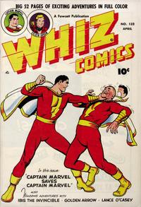 Cover Thumbnail for Whiz Comics (Fawcett, 1940 series) #132