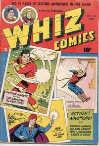 Cover Thumbnail for Whiz Comics (Fawcett, 1940 series) #134