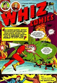 Cover Thumbnail for Whiz Comics (Fawcett, 1940 series) #135