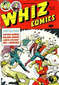 Cover for Whiz Comics (Fawcett, 1940 series) #136