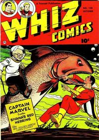Cover Thumbnail for Whiz Comics (Fawcett, 1940 series) #138
