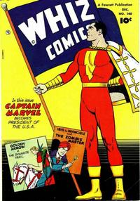 Cover Thumbnail for Whiz Comics (Fawcett, 1940 series) #140