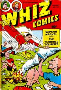 Cover Thumbnail for Whiz Comics (Fawcett, 1940 series) #141