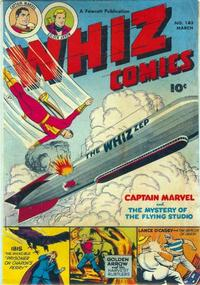 Cover Thumbnail for Whiz Comics (Fawcett, 1940 series) #143