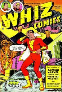 Cover Thumbnail for Whiz Comics (Fawcett, 1940 series) #144