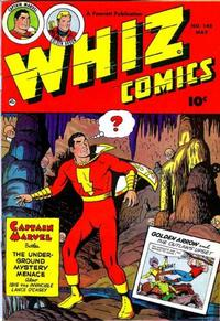 Cover Thumbnail for Whiz Comics (Fawcett, 1940 series) #145