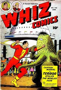 Cover Thumbnail for Whiz Comics (Fawcett, 1940 series) #146