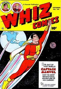 Cover Thumbnail for Whiz Comics (Fawcett, 1940 series) #149