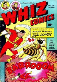 Cover Thumbnail for Whiz Comics (Fawcett, 1940 series) #150