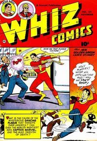 Cover Thumbnail for Whiz Comics (Fawcett, 1940 series) #151