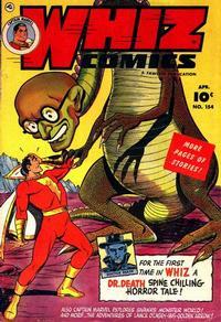 Cover Thumbnail for Whiz Comics (Fawcett, 1940 series) #154