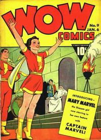 Cover Thumbnail for Wow Comics (Fawcett, 1940 series) #9