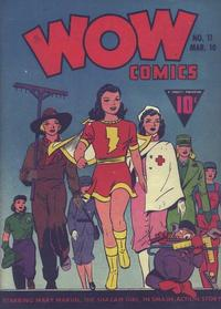 Cover Thumbnail for Wow Comics (Fawcett, 1940 series) #11