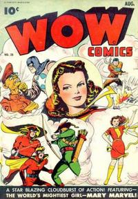 Cover Thumbnail for Wow Comics (Fawcett, 1940 series) #28