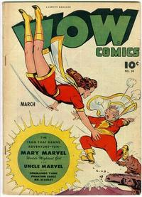 Cover Thumbnail for Wow Comics (Fawcett, 1940 series) #34