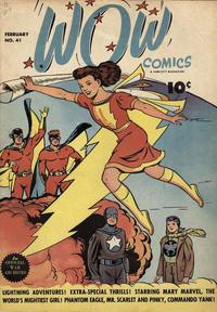 Cover Thumbnail for Wow Comics (Fawcett, 1940 series) #41