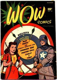 Cover Thumbnail for Wow Comics (Fawcett, 1940 series) #50