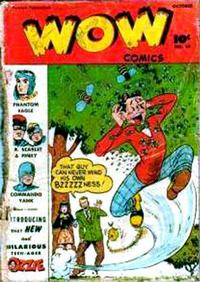 Cover Thumbnail for Wow Comics (Fawcett, 1940 series) #59