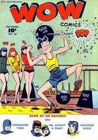 Cover Thumbnail for Wow Comics (Fawcett, 1940 series) #60