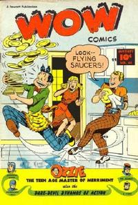Cover for Wow Comics (Fawcett, 1940 series) #62
