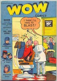 Cover Thumbnail for Wow Comics (Fawcett, 1940 series) #63