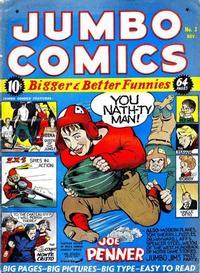 Cover Thumbnail for Jumbo Comics (Fiction House, 1938 series) #3