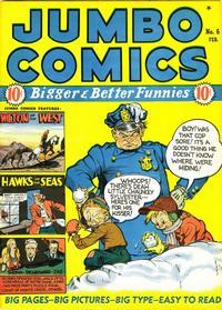 Cover Thumbnail for Jumbo Comics (Fiction House, 1938 series) #6