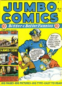 Cover Thumbnail for Jumbo Comics (Fiction House, 1938 series) #6