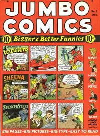 Cover Thumbnail for Jumbo Comics (Fiction House, 1938 series) #7