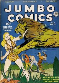 Cover Thumbnail for Jumbo Comics (Fiction House, 1938 series) #15