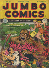 Cover Thumbnail for Jumbo Comics (Fiction House, 1938 series) #22
