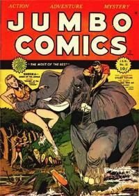 Cover Thumbnail for Jumbo Comics (Fiction House, 1938 series) #23