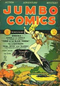 Cover Thumbnail for Jumbo Comics (Fiction House, 1938 series) #24