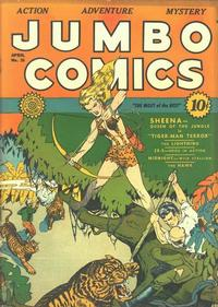 Cover Thumbnail for Jumbo Comics (Fiction House, 1938 series) #26