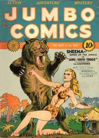 Cover Thumbnail for Jumbo Comics (Fiction House, 1938 series) #27