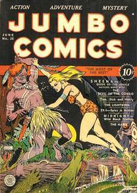 Cover Thumbnail for Jumbo Comics (Fiction House, 1938 series) #28