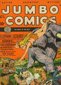 Cover Thumbnail for Jumbo Comics (Fiction House, 1938 series) #29
