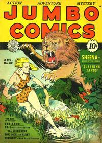 Cover Thumbnail for Jumbo Comics (Fiction House, 1938 series) #30
