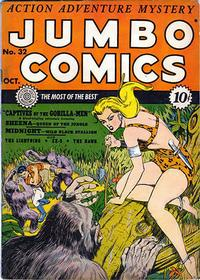 Cover Thumbnail for Jumbo Comics (Fiction House, 1938 series) #32