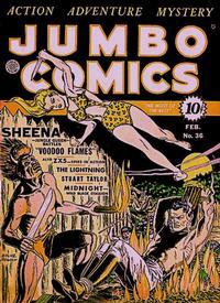Cover Thumbnail for Jumbo Comics (Fiction House, 1938 series) #36
