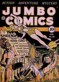Cover Thumbnail for Jumbo Comics (Fiction House, 1938 series) #36
