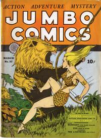 Cover Thumbnail for Jumbo Comics (Fiction House, 1938 series) #37