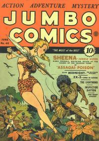 Cover Thumbnail for Jumbo Comics (Fiction House, 1938 series) #40