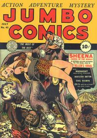 Cover Thumbnail for Jumbo Comics (Fiction House, 1938 series) #41